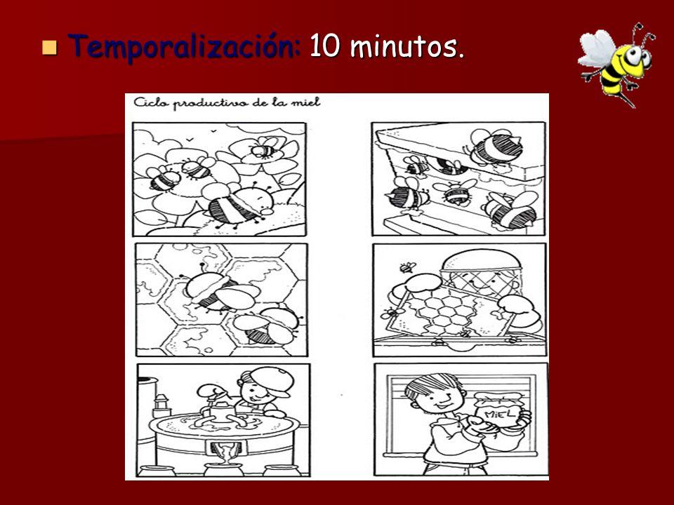 Temporalización: 10 minutos. Temporalización: 10 minutos.