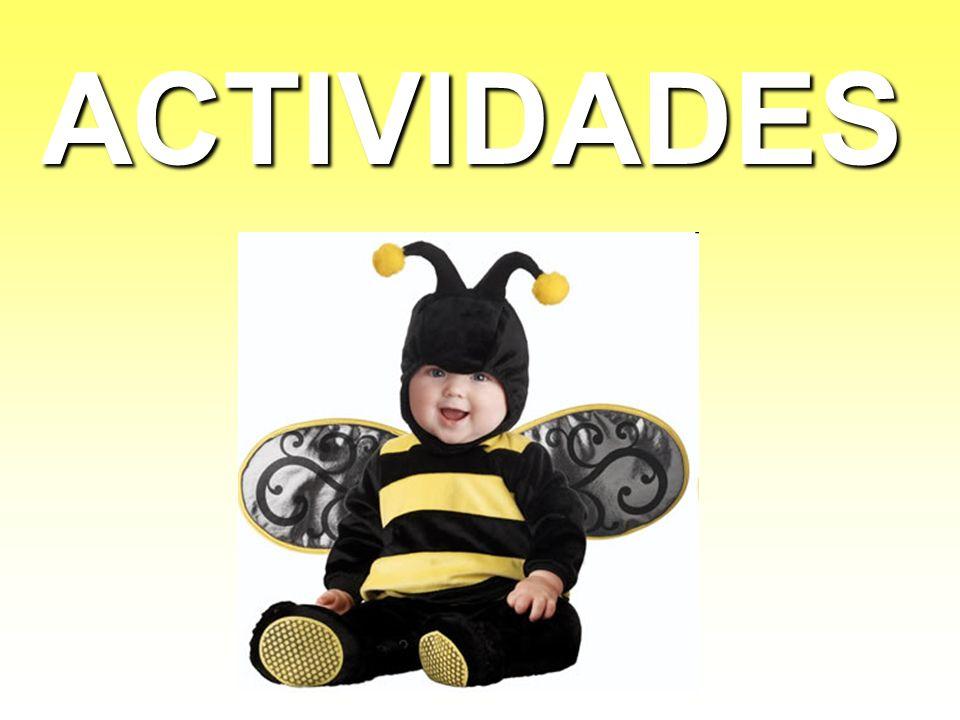 Normas que todas las abejas deben seguir: 1.No alejarse del grupo, ni volar sin compañia.