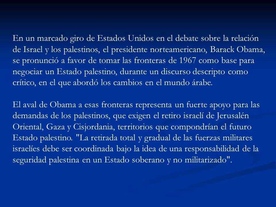 Obama también advirtió a los palestinos respecto de cualquier maniobra que intente aislar simbólicamente a Israel en la ONU en septiembre .