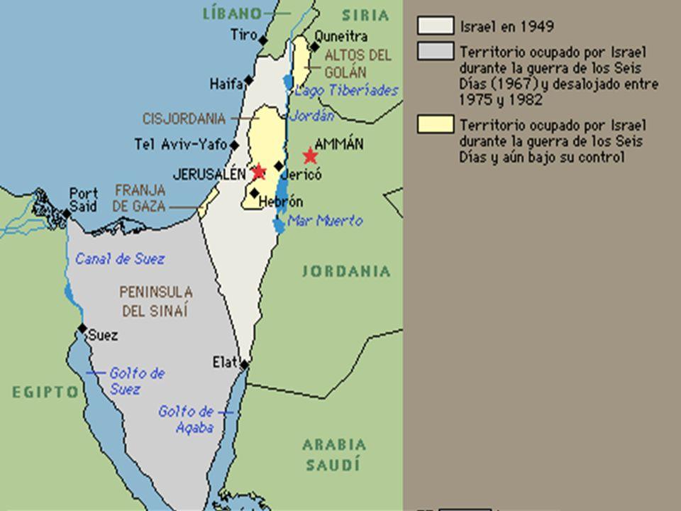 La guerra del Yom Kipur En 1973, Egipto se unió a Siria en un ataque contra Israel, con la intención de reconquistar el territorio árabe tomado por Israel en la guerra de los Seis Días (1967).