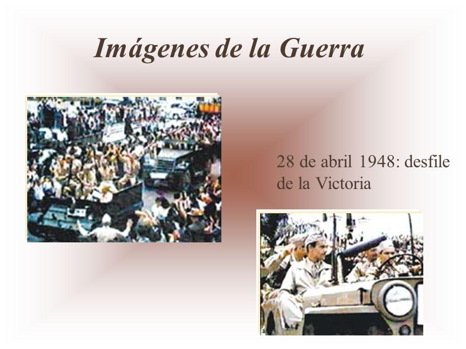 28 de abril 1948: desfile de la Victoria Imágenes de la Guerra