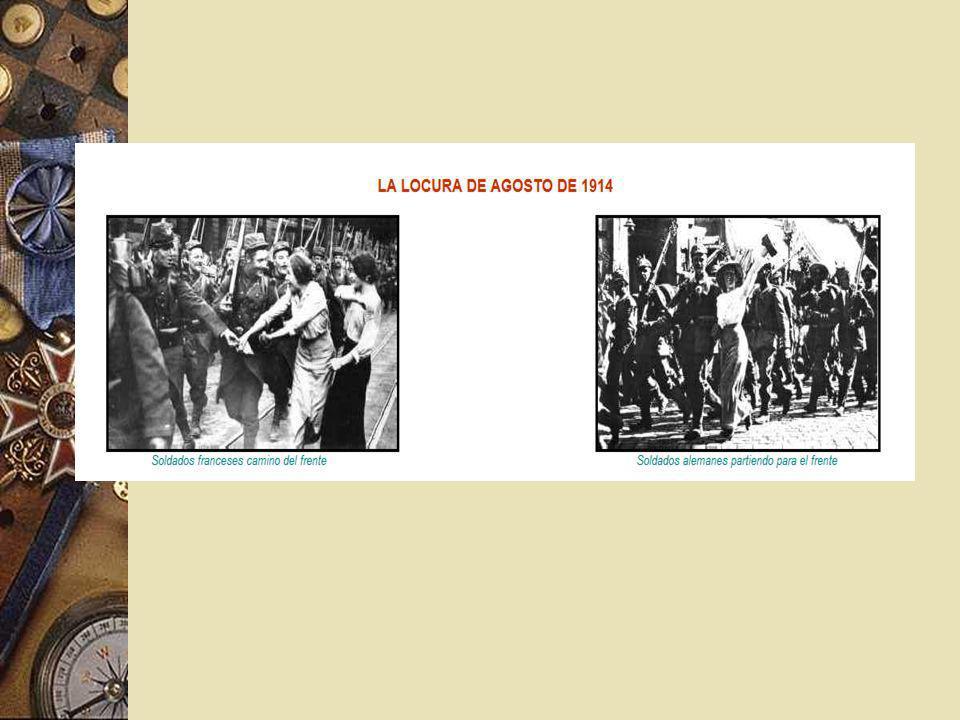 Los Hechos El 3 de agosto, Alemania le declara la guerra a Francia.