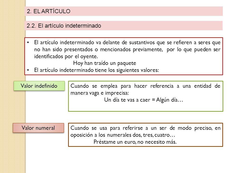 2.EL ARTÍCULO 2.2.