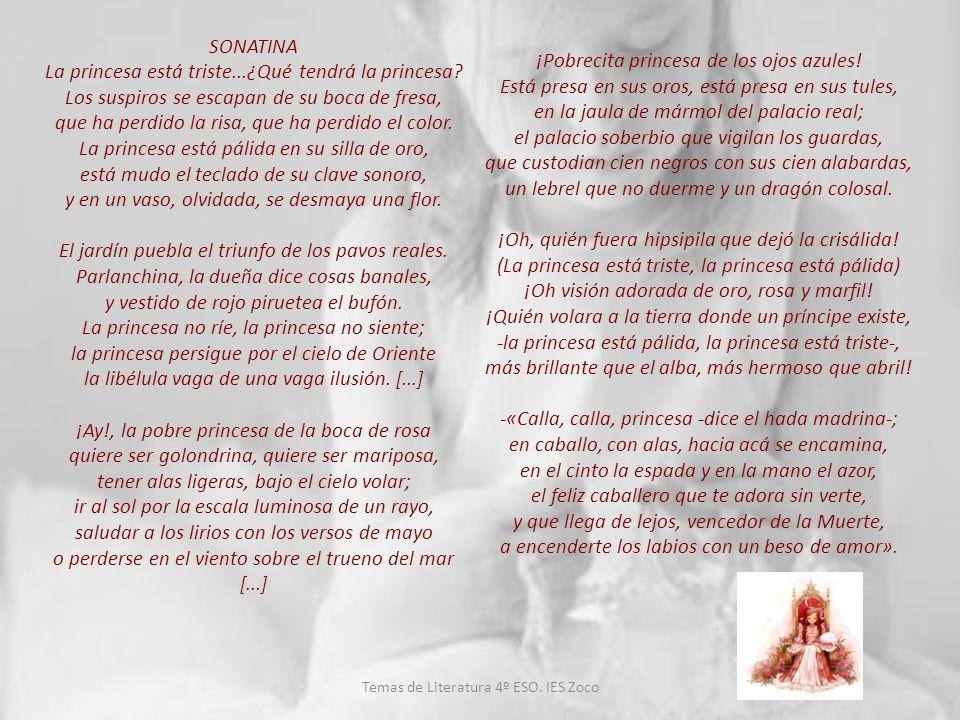 1.5.El modernismo español Temas de Literatura 4º ESO.