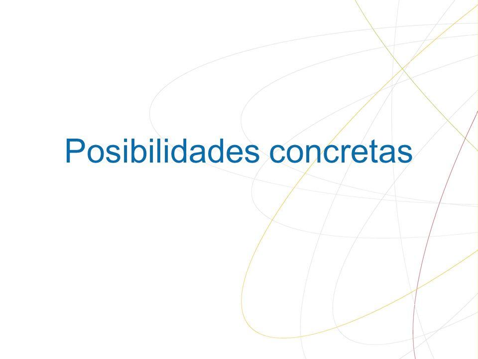 Posibilidades concretas