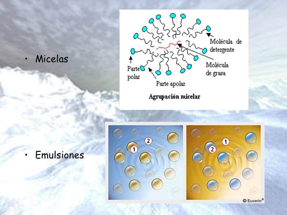 Micelas Emulsiones