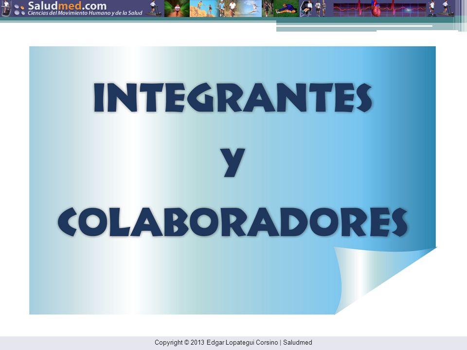 Copyright © 2013 Edgar Lopategui Corsino | Saludmed EL EJERCICIO ES MEDICINA ® Descripción: Iniciativa transdisciplinaria: Dirigida a: Fomentar la act