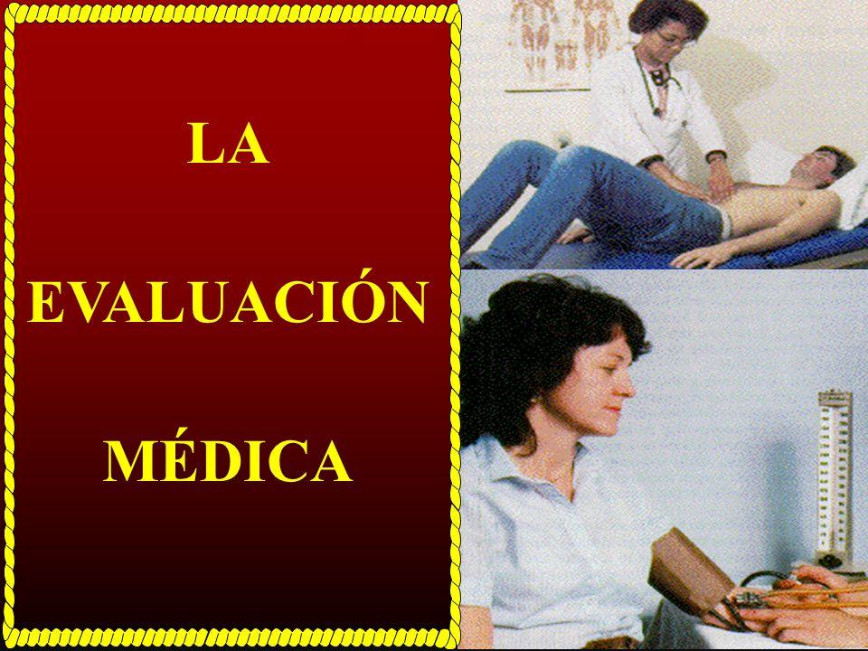 LA PRESCRIPCIÓN DE EJERCICIO Flujo de Pasos a Seguir Examen Médico Cuestionario de Salud Pruebas de Aptitud Física Rx Ejercicio