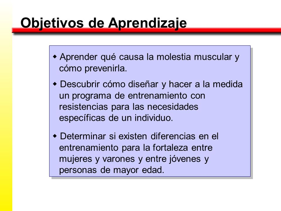 Entrenamiento con Resistencias Conceptos Neuromusculares FortalezaMuscular TERMINOLOGÍA PotenciaMuscular Tolerancia Muscular
