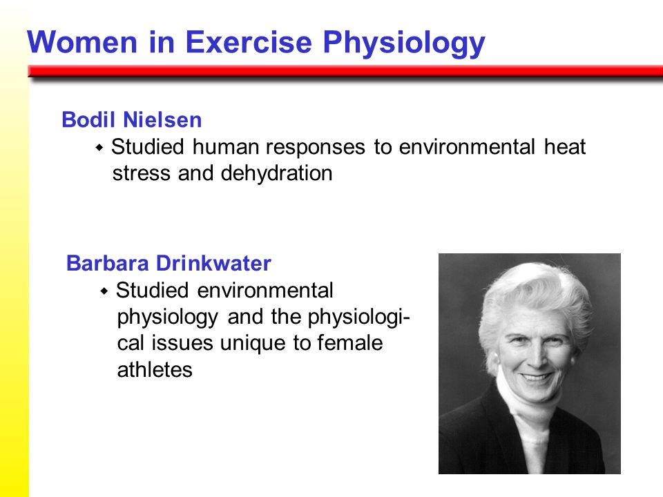 Birgitta Essen Adapted micro-biochemical methods for better studying muscle samples obtained with muscle biopsy Women in Exercise Physiology Karen Pie