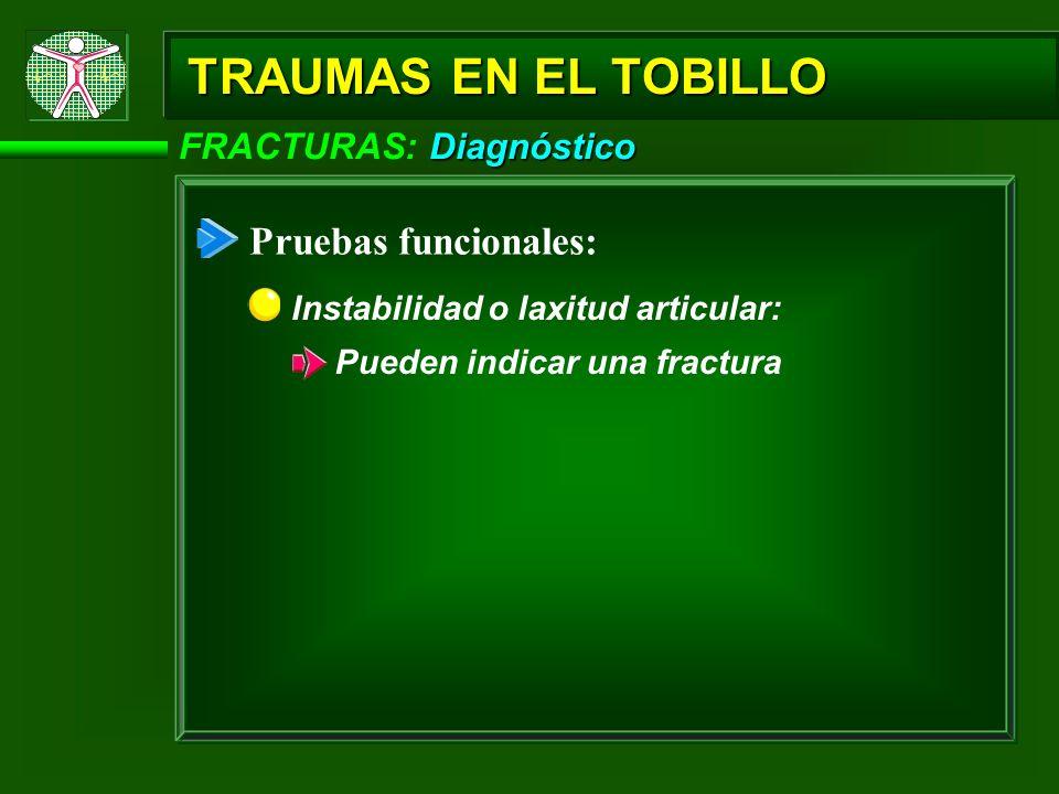Tratamiento FRACTURAS: Tratamiento TRAUMAS EN EL TOBILLO Uso de muletas Inmovilizar la región afectada: Aplicar férulas (entablillados): Improvisadas Pneumáticas (de aire) Yeso: Tornilos:
