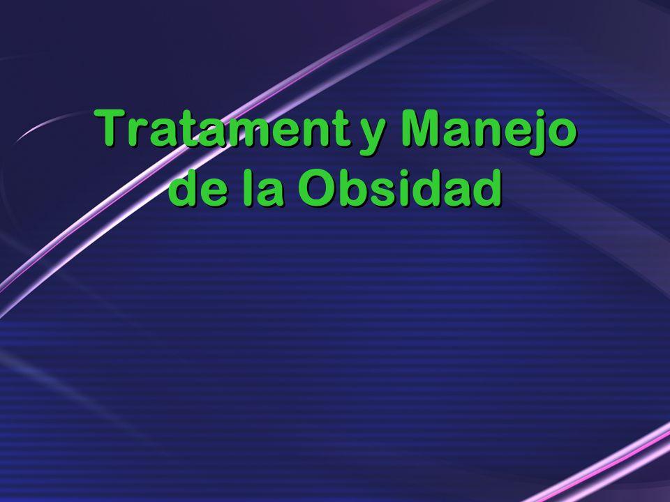 Tratament y Manejo de la Obsidad