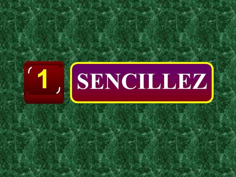 SENCILLEZ 1
