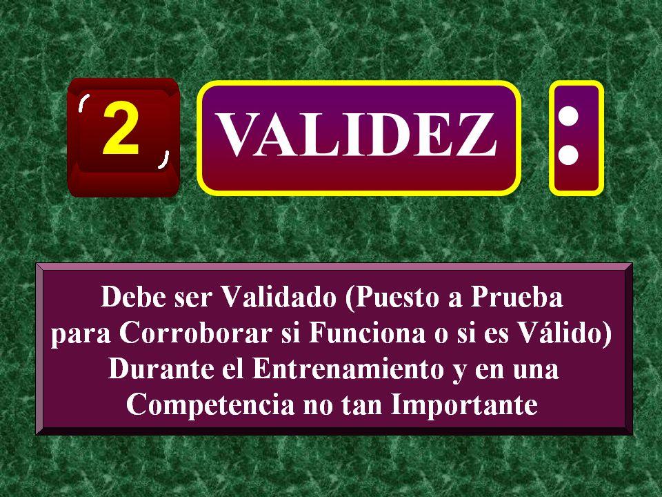 VALIDEZ 2 :