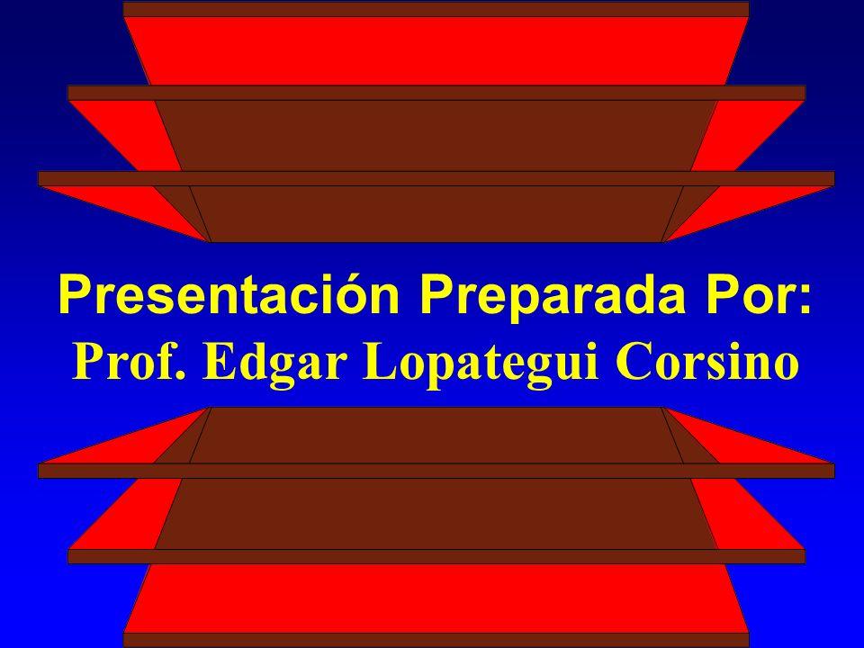 Presentación Preparada Por: Prof. Edgar Lopategui Corsino