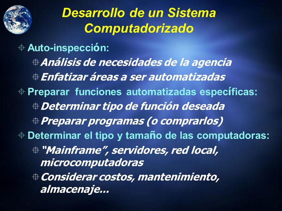 Sistemas de Informaci ó n Basados en la Computadora Sistema para el procesamiento de transacciones (inventarios, facturación, etc.) Administración del