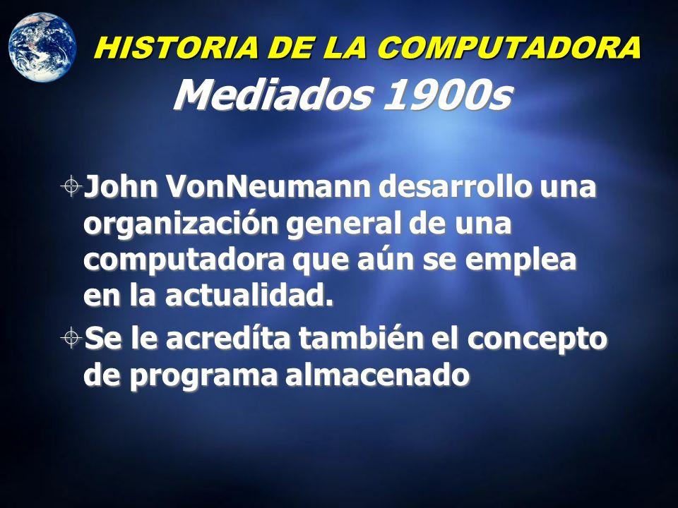 Inventó una perforadora, lectora y tabuladora de tarjetas HISTORIA DE LA COMPUTADORA 1880 – Herman Hollerith
