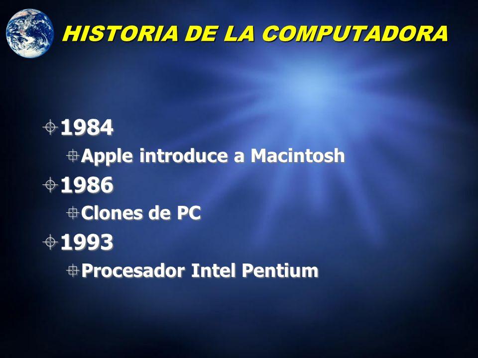 1980 Se le acreditó a Bill Gates de crear MS DOS (Sistema Operativo para las computadoras PC) IBM quiso construir una PC Necesitaban un sistema operat
