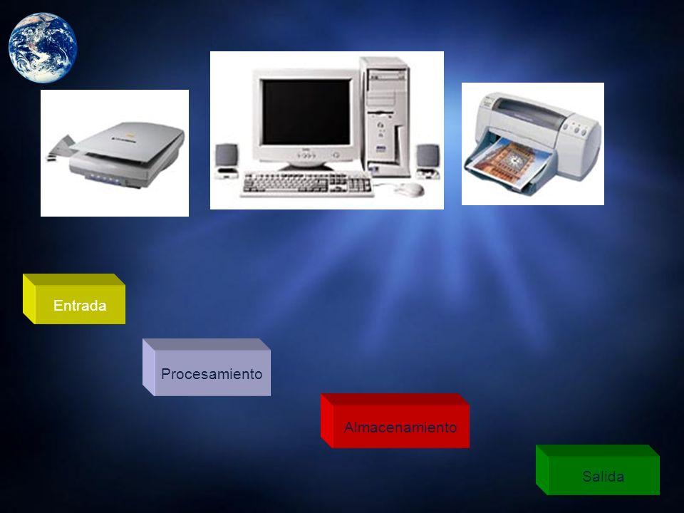 FUNCIONES PRINCIPALES DE UNA COMPUTADORAS Entrada : Tomar la Información. Proceso : Manipular la Información o Utilizarla de Alguna Forma. Almacenamie