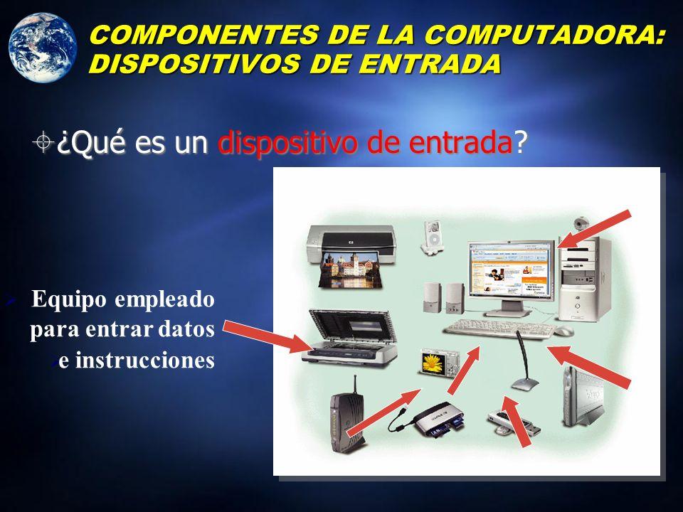 ENTRADA LOS COMPONENTES EXTERNOS: ENTRADA