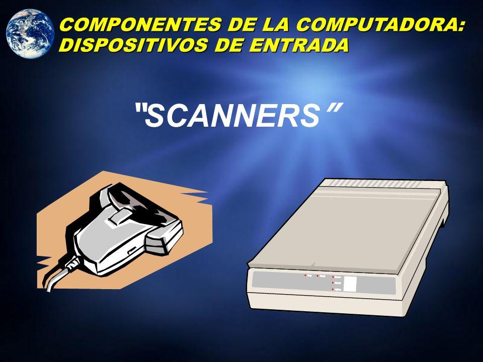 RAT Ó N ( MOUSE ) COMPONENTES DE LA COMPUTADORA: DISPOSITIVOS DE ENTRADA