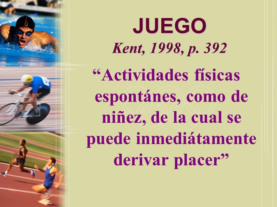 JUEGO (PLAY) Smith, 1990, p.