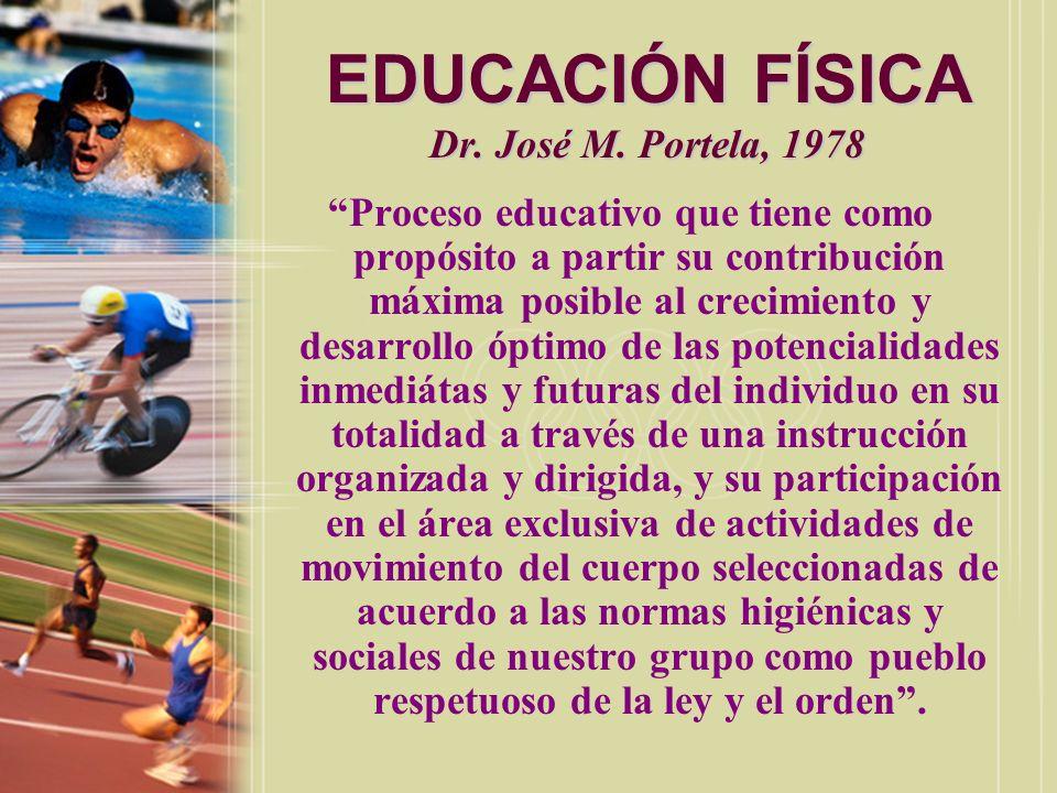 EDUCACIÓN FÍSICA Dra.