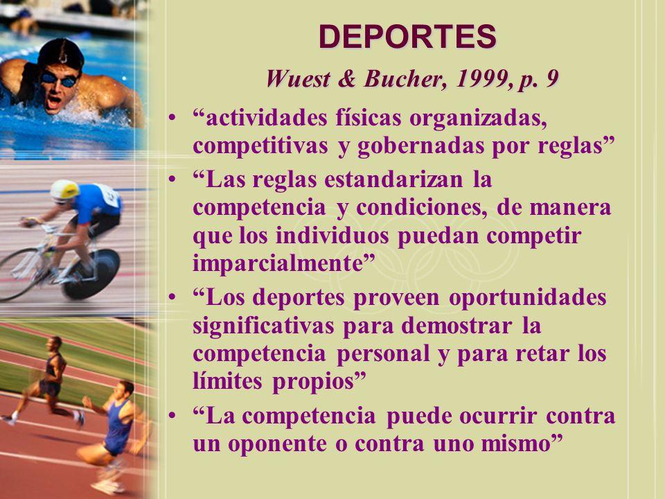 DEPORTES Wuest & Bucher, 1999, p.