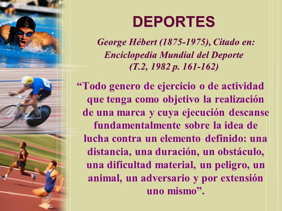 DEPORTES Cagigal, J.