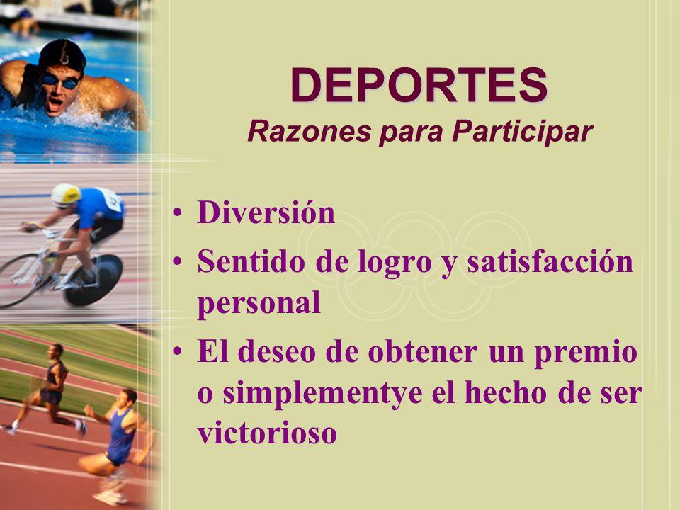DEPORTES Barrallo, 1990, p.7 DEPORTES Tipos de Deportes Barrallo, 1990, p.