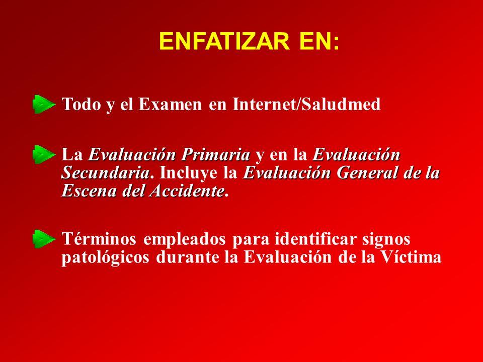 Pupilas Normales/Iguales (Isocoria) Pupilas Contraidas (Miosis) Pupilas Dilatadas (Midriasis) Pupilas Desiguales (Anisocoria) EVALUACIÓN SECUNDARIA: EVALUACIÓN SECUNDARIA: - Signos Vitales - - Signos Vitales -
