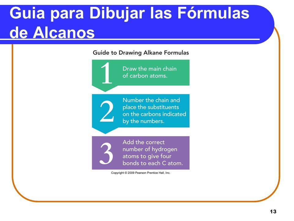 Guia para Dibujar las Fórmulas de Alcanos 13