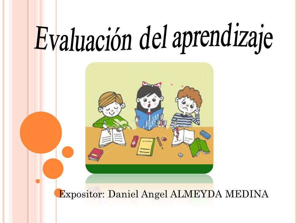 Expositor: Daniel Angel ALMEYDA MEDINA