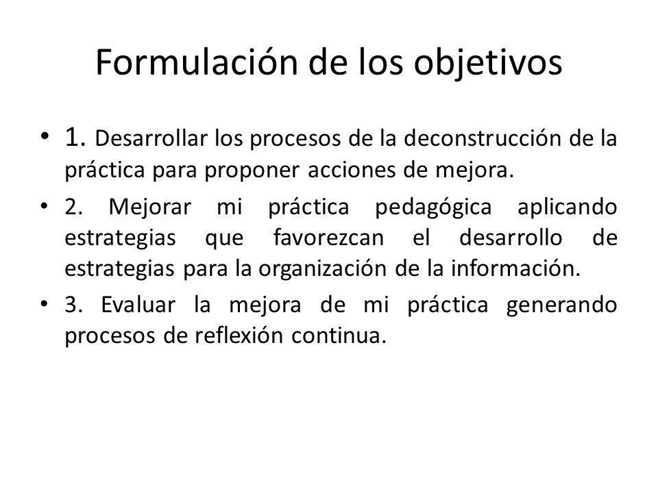 LA RECONSTRUCCION: El éxito de la reconstrucción depende del detalle y crítica de la práctica pedagógica desarrollada en la deconstrucción. La reconst