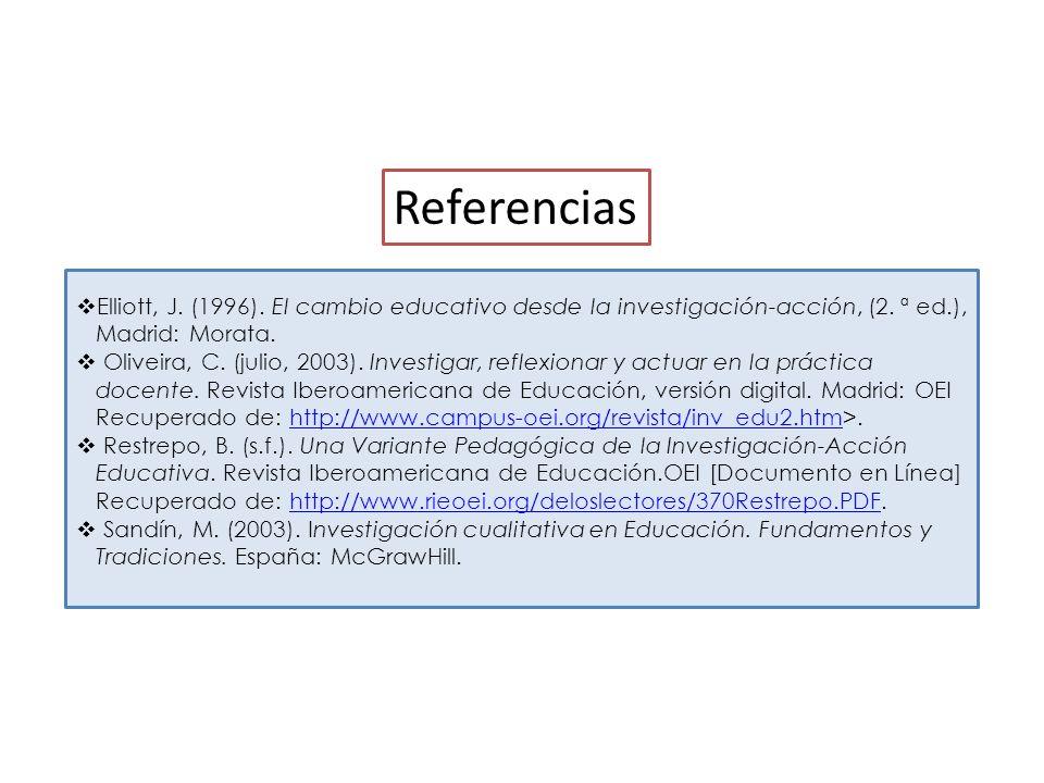 Por último…… - Reflexión crítica - Comunicación y difusión de los resultados.