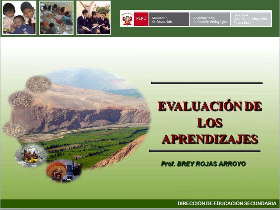 Precisiones sobre la matriz de evaluación 1.Es un instrumento para planificar la evaluación.