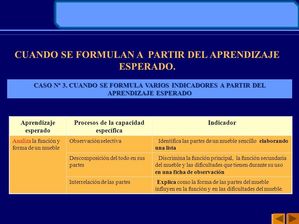 LAS CAPACIDADES E INDICADORES DE EVALUACIÓN QUE CONSIGNARÁN EN LA MATRIZ DEBEN SER TOMADOS DE LA UNIDAD DIDÁCTICA (Proyecto de Aprendizaje) I.