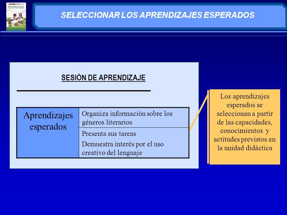 ANALIZAR EL APRENDIZAJE ESPERADO ¿Qué es organizar.
