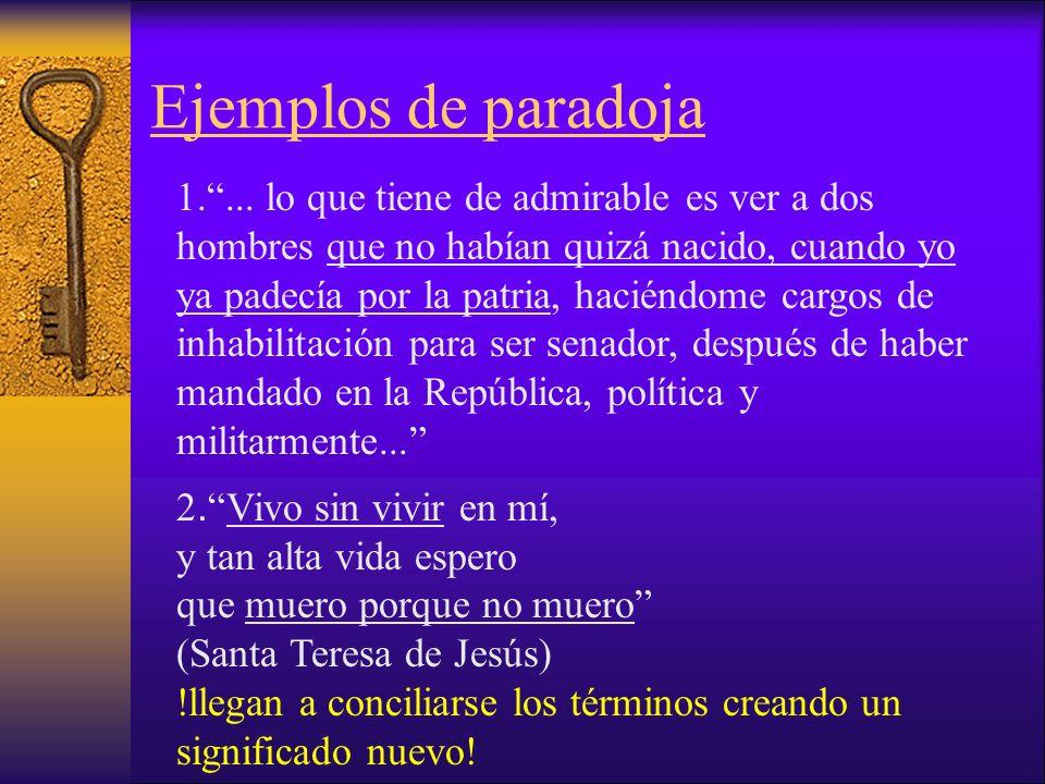 Ejemplos de paradoja 1....