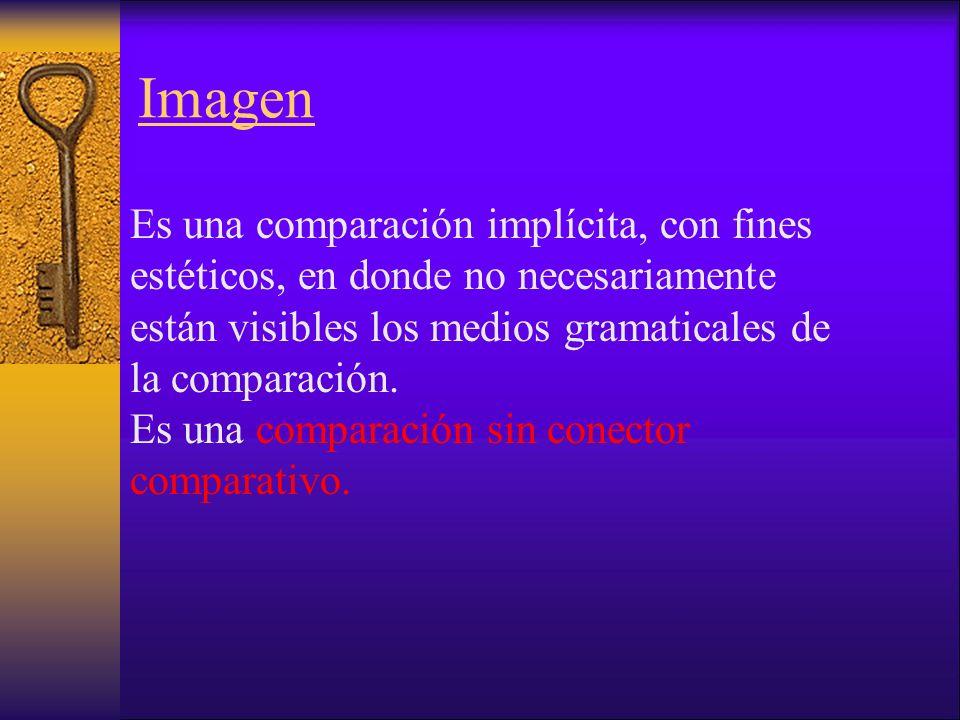 Alegoría Repetición de metáforas o de imágenes con el fin de representar una idea.