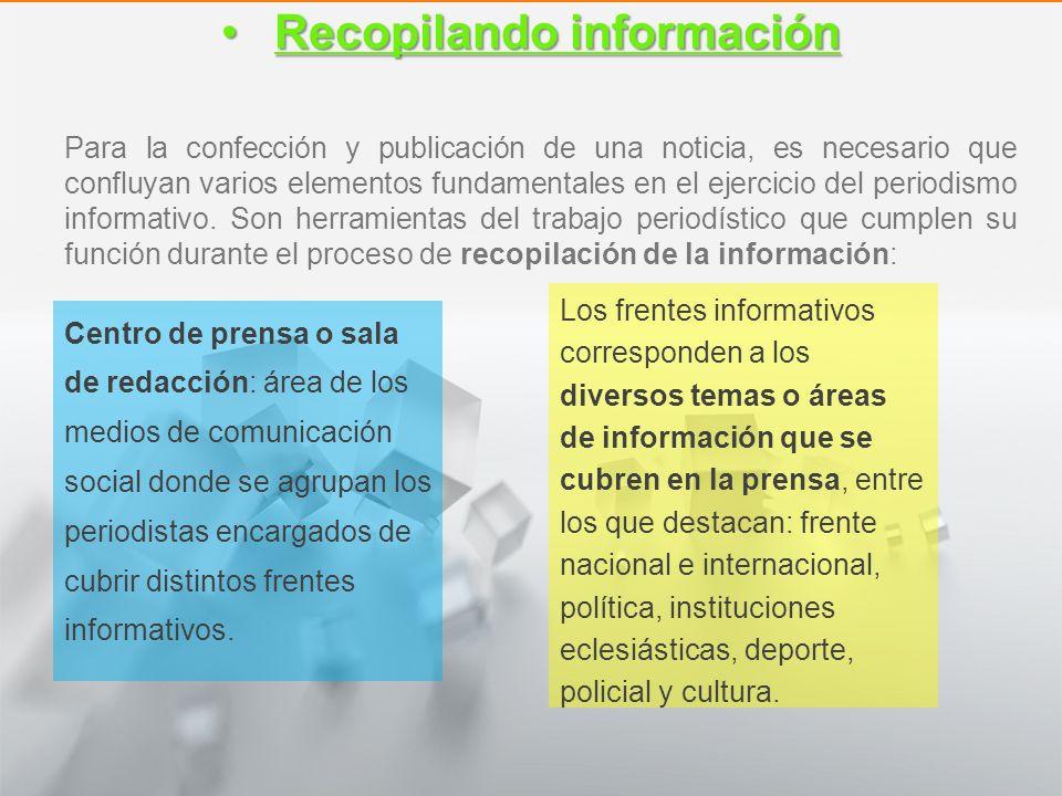 Características y Estructura de la Noticia 1° medio Lengua castellana y comunicación El lenguaje noticioso El lenguaje noticioso Información clara: Me