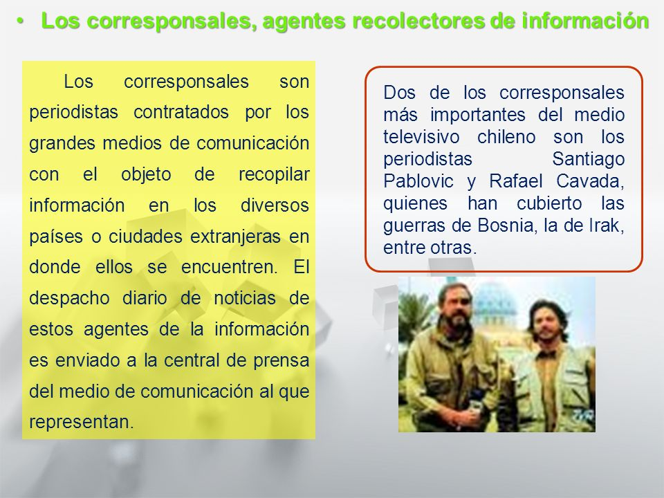 Características y Estructura de la Noticia 1° medio Lengua castellana y comunicación Agencias nacionales de noticiasAgencias nacionales de noticias La