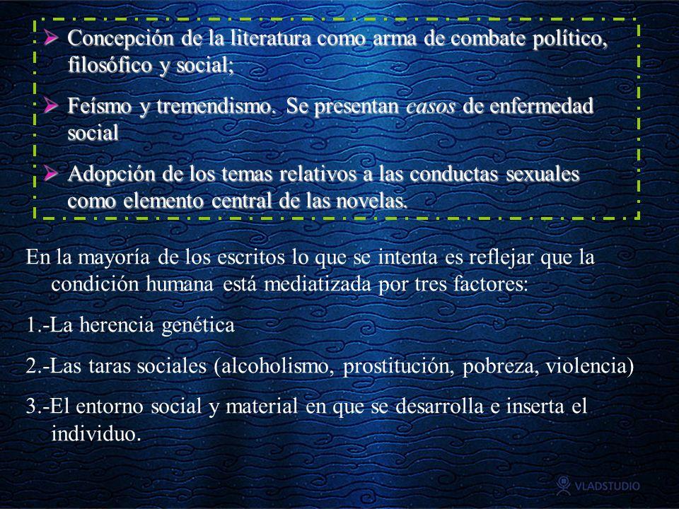Concepción de la literatura como arma de combate político, filosófico y social; Concepción de la literatura como arma de combate político, filosófico