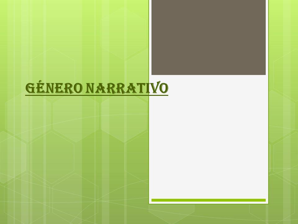 DEFINICIÓN Modalidad discursiva que se utiliza para contar una historia, acontecimientos o hechos que le suceden a un personaje en un tiempo o espacio determinado.
