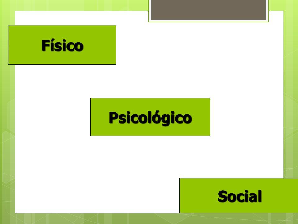 Físico Psicológico Social Social