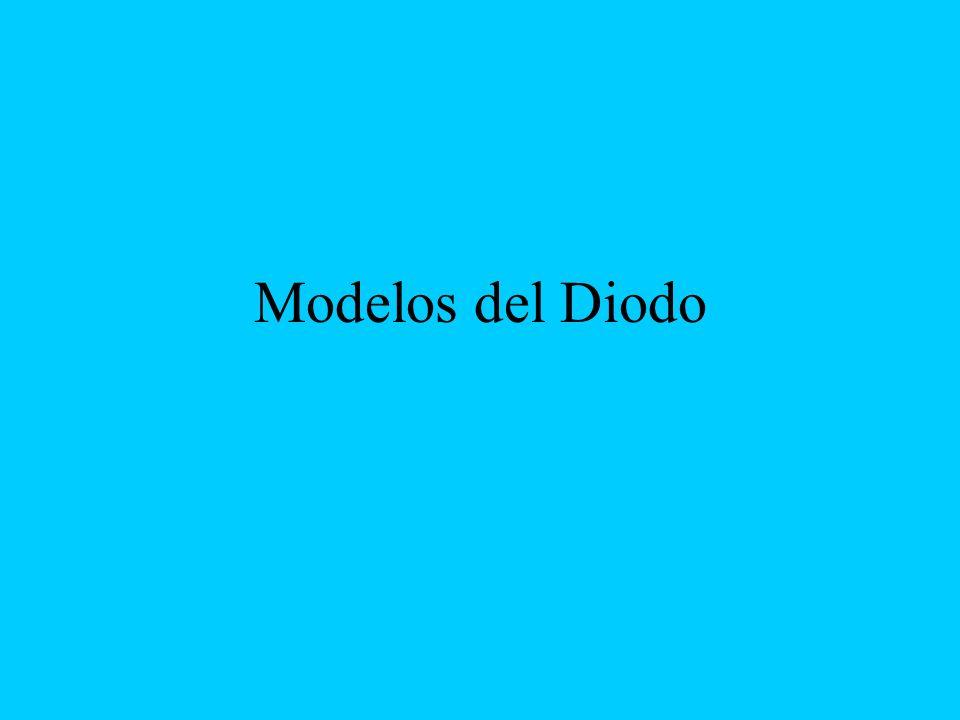 Modelos del Diodo