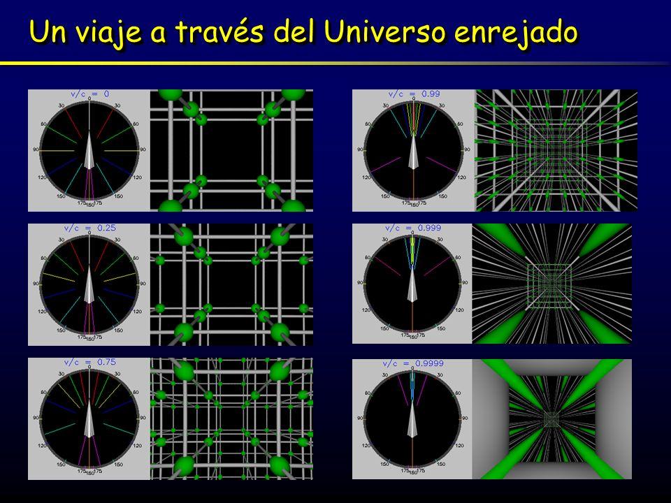 Un viaje a través del Universo enrejado