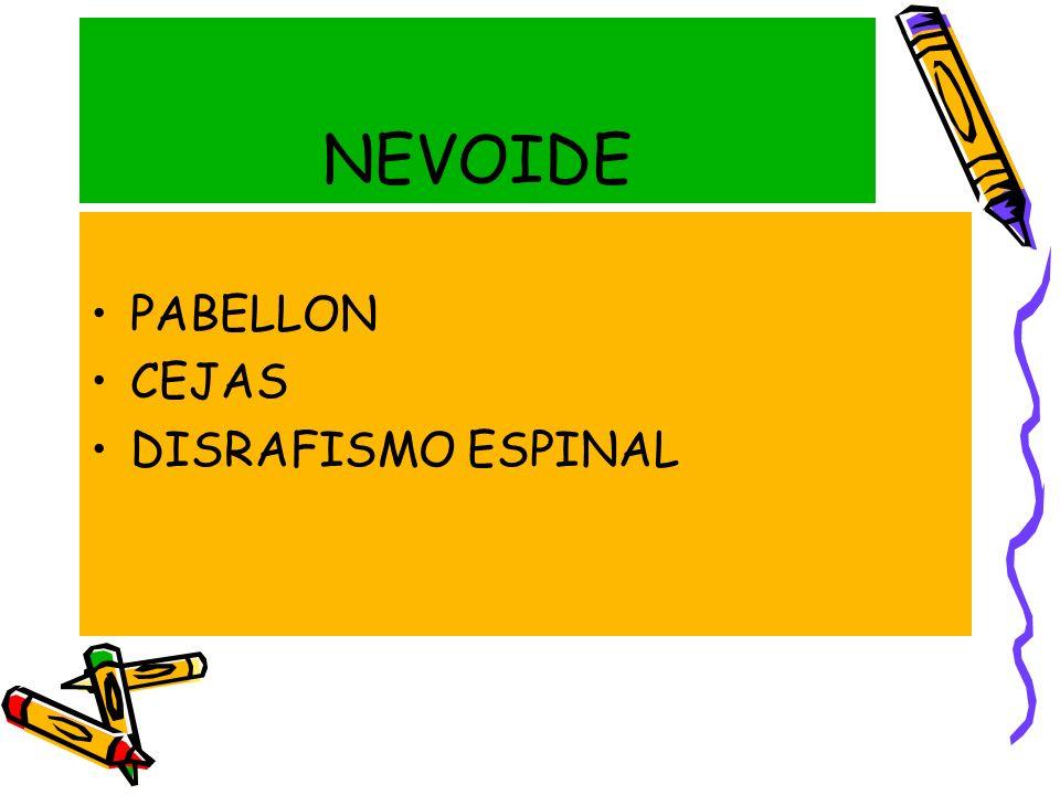NEVOIDE PABELLON CEJAS DISRAFISMO ESPINAL