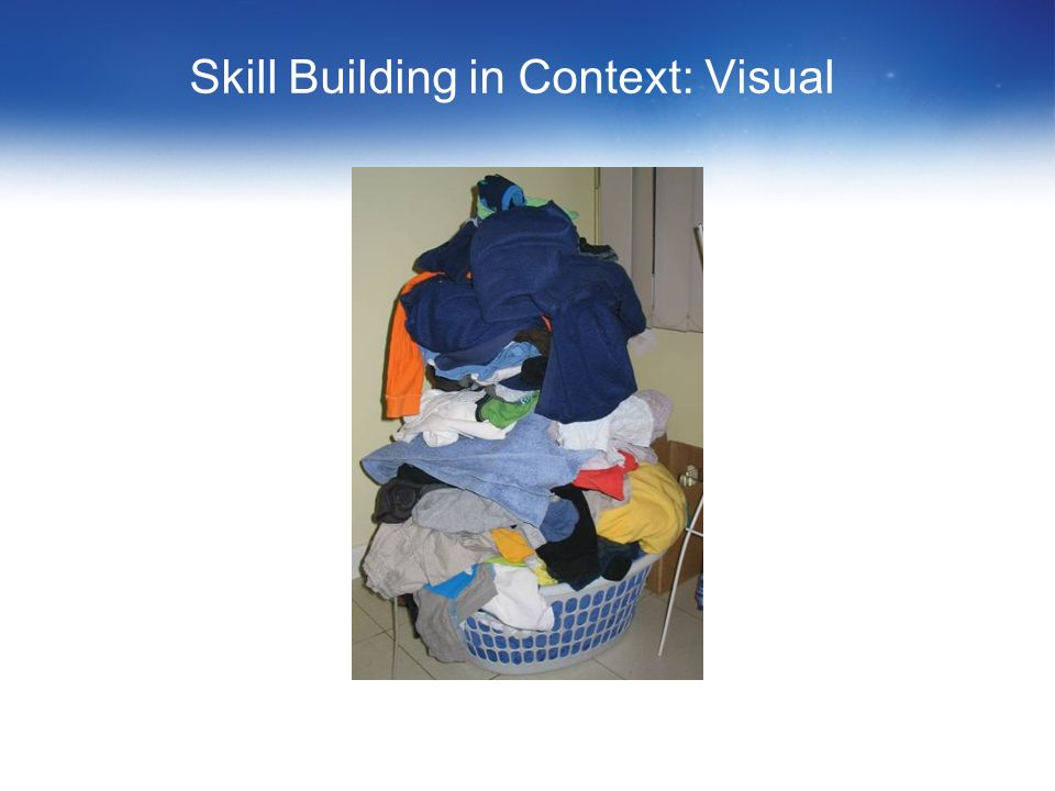 Skill Building in Context: Reading It is really quite simple. First you arrange things into different groups. Of course, one group may be sufficient d