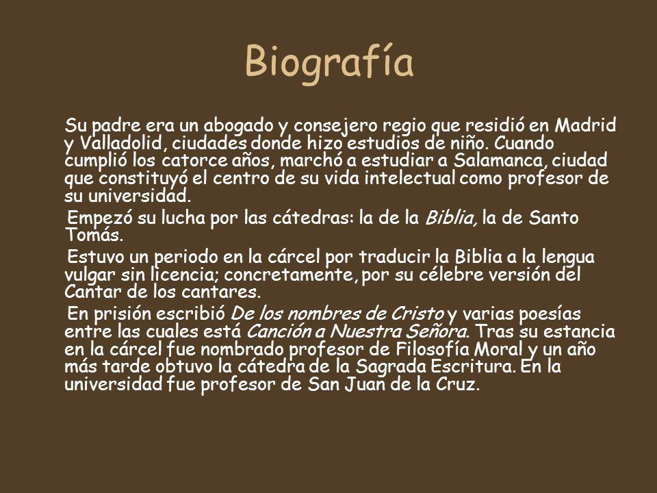 Biografía Su padre era un abogado y consejero regio que residió en Madrid y Valladolid, ciudades donde hizo estudios de niño.
